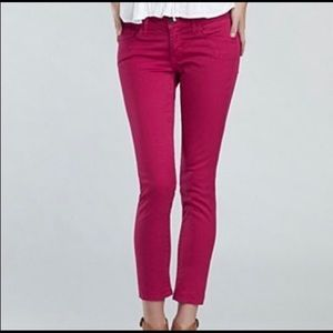Pink Lucky Brand Charlie Capri size 6